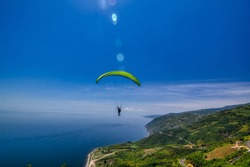 Ucmakdere Tekirdag Turkey parachute jump