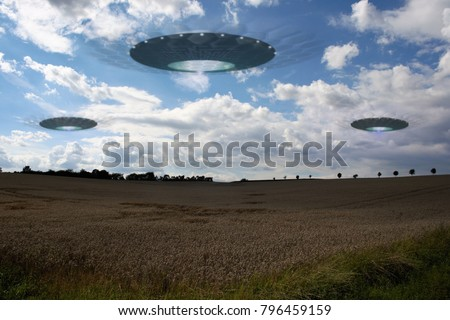 ufos ready for colonization