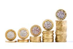 Uk money pound sterling cash