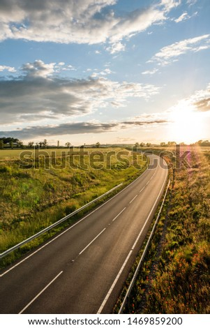 uk motorway road overhead view at daylight #1469859200