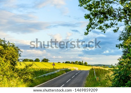 uk motorway road overhead view at daylight #1469859209