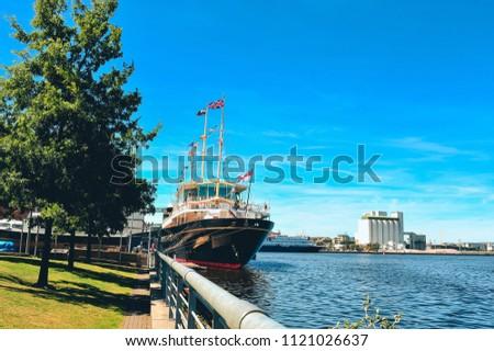 UK royal yacht britannia
