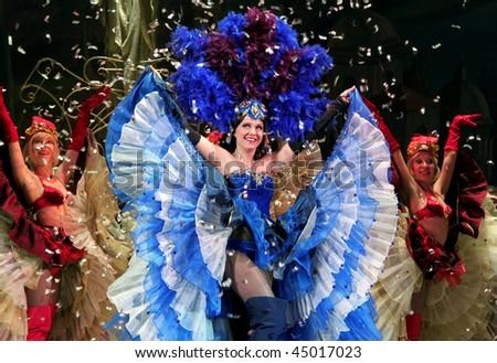 UKRAINE, KIEV - JANUARY 21: Great theatrical performance \