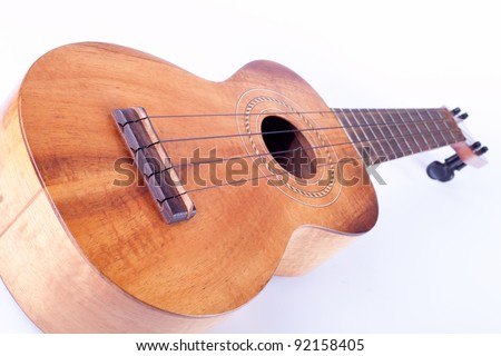 ukulele - stock photo