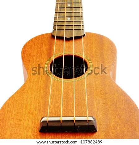 ukulele guitar family from Hawaiian