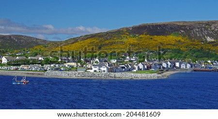 Ullapool Harbour, Scotland #204481609