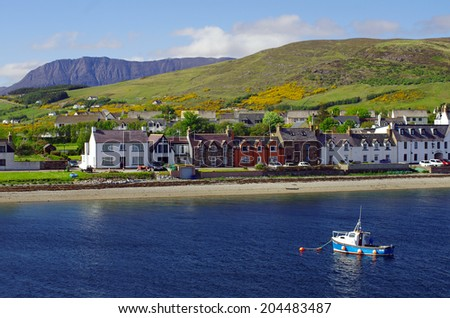 Ullapool Harbour, Scotland #204483487