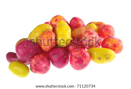 stock-photo-ulluco-lat-ullucus-tuberosus-a-colorful-root-crop-form-the-andean-region-isolated-on-white-71120734
