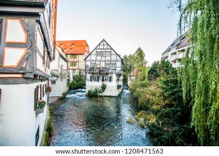 Ulm city center, Germany
