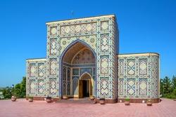 Ulugh Beg observatory building, Samarkand, Uzbekistan