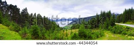Ulvik panorama
