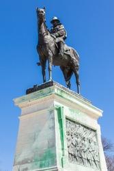 Ulysses S. Grant Memorial statue in Washington DC - USA