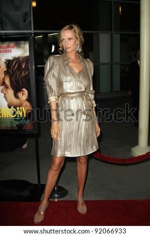 "Uma Thurman at the ""Ceremony&quot ; Los Angeles Premiere, Arclight, Hollywood, CA. 03-22-11 - stock photo"
