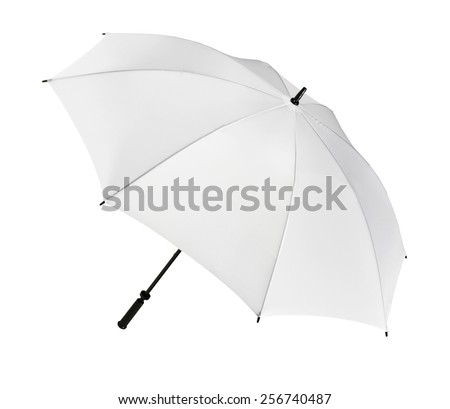 Umbrella. Isolated #256740487