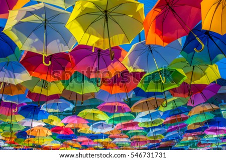 umbrella street decoration #546731731