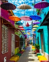 Umbrella Streets - Cartagena - Colombia