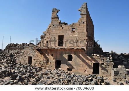 Umm el-Jimal Castle ruins