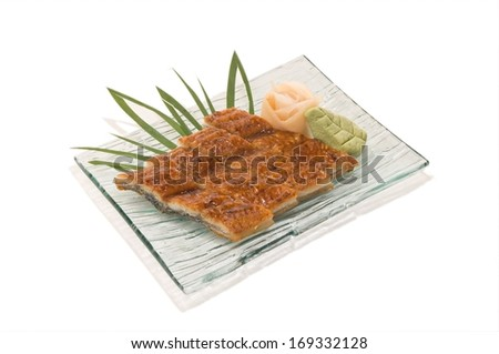 Unagi Sashimi Eel with sauce 4 Pcs.