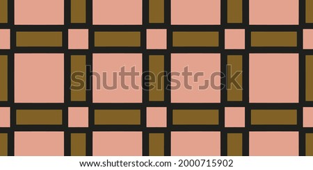 unColorful mosaic texture, Seamless illustration for design. seamless pattern with elements. Shining illustration with lines on abstract template.defined Foto stock ©