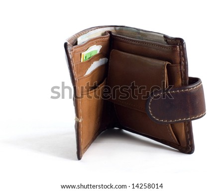 uncovered wallet