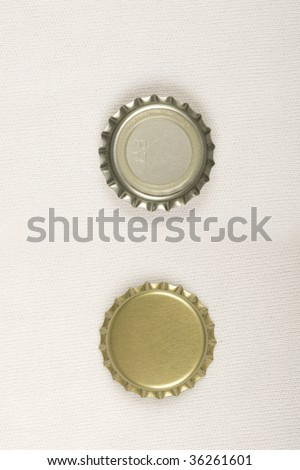 Uncrimped beer caps