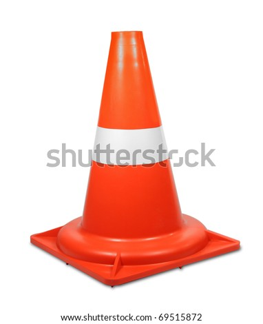Under construction. Cone