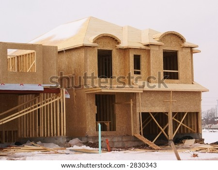 under construction house