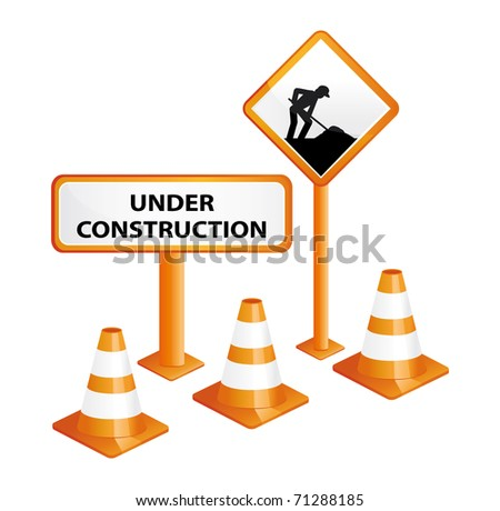 Under construction. Website concept.