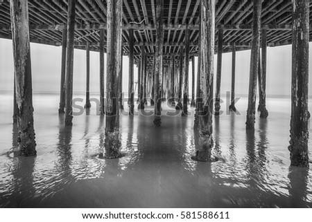 under pismo pier #581588611