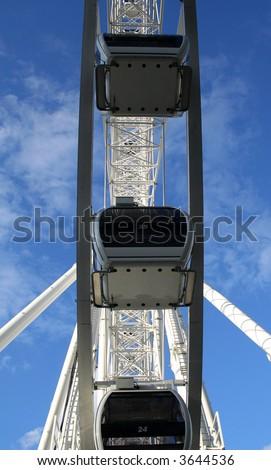 Under the Ferris Wheel.