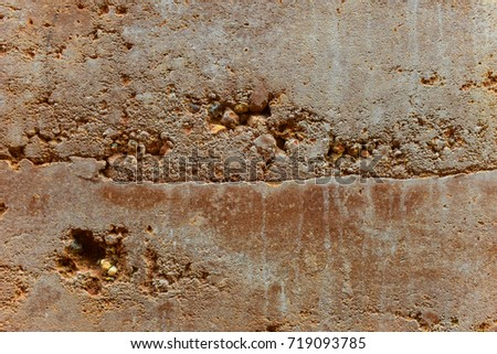 Underground layers of earth, Soil layer wall. #719093785