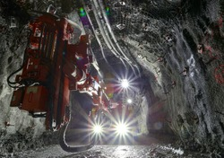 Underground Mine Production Drill Rig
