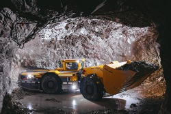 underground mining digger industry gold tunnel mineral