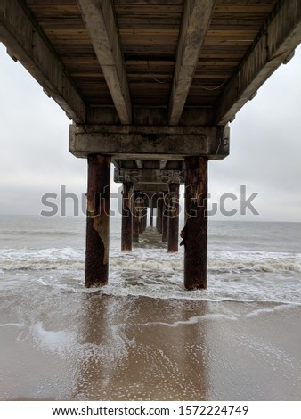 underneath a very long pier #1572224749