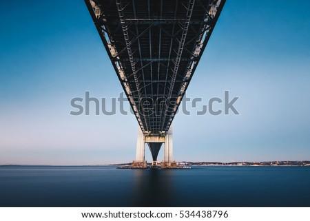 Underneath the Verrazano Narrows Bridge   #534438796