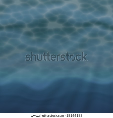 Undersea marine water abstract pattern illustration design