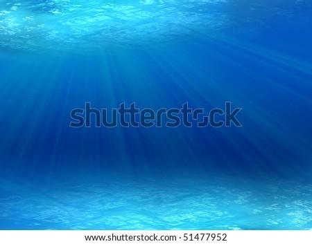 Stock Photo underwater