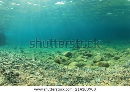 Shutterstock Underwater background in sea