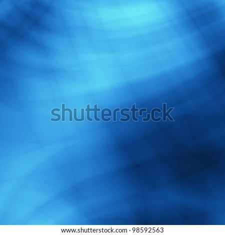 Underwater blue abstract background - stock photo