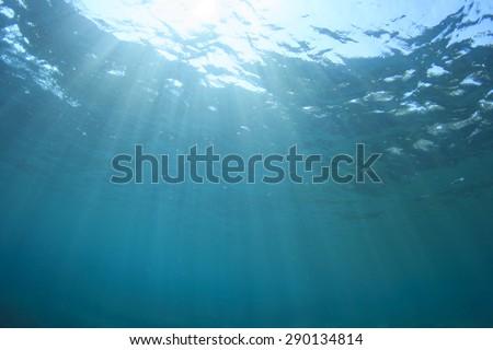 Underwater Blue Background #290134814
