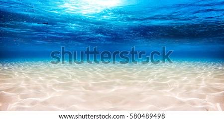 underwater blue ocean wide...