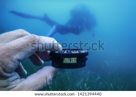 Underwater Dive Orientation, Underwater Navigation, Orientation Dive #1421394440