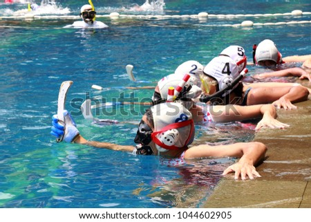 Underwater Hockey Tournament #1044602905