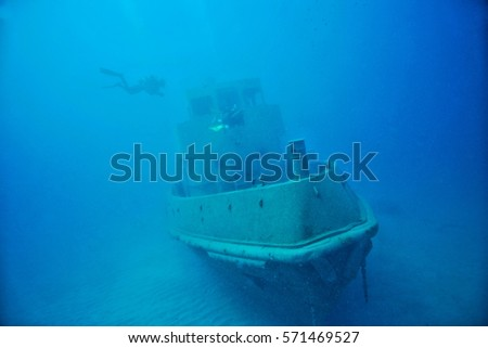 Underwater in Malta island