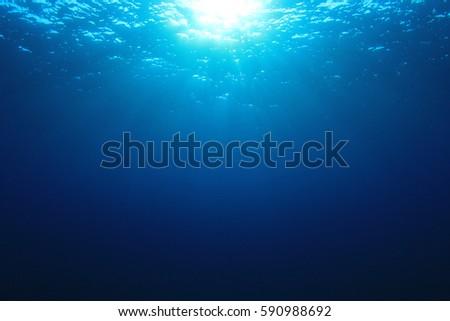 Underwater ocean background #590988692