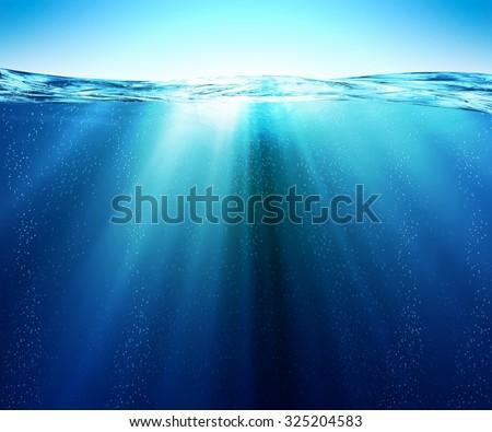 Underwater or under the sea, Southern Ocean - Shutterstock ID 325204583