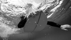 Underwater Surf Swim
