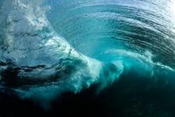 Underwater wave vortex, Sydney Australia