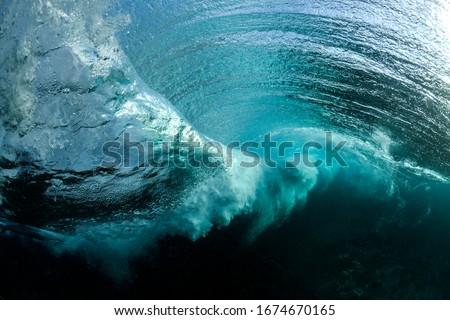 Photo of  Underwater wave vortex, Sydney Australia