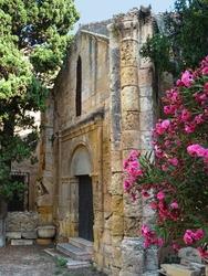 UNESCO World Heritage. Old Romanesque Chapel of Santa Tecla. Cathedral of Tarragona. (12-13 century). Catalonia. Spain.